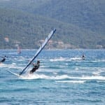 Windsurfing paradise in Viganj