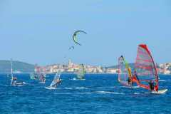 Windsurfing of Viganj