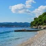 Škvar beach Orebić